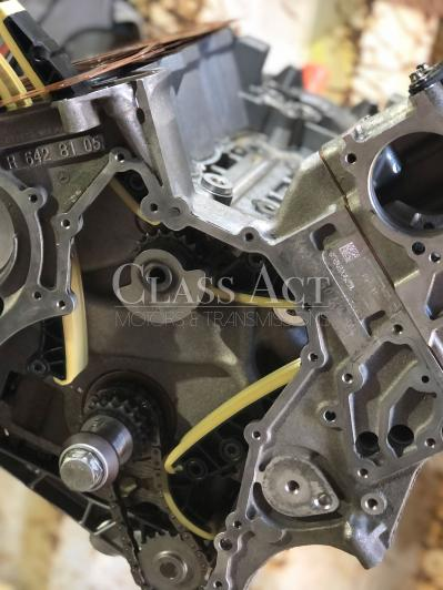 CAM 30L V6 OM642 Sprinter Engine Block With New Chain Guides Etc